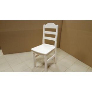 """Удивительный, самый удачный, с нашей точки зрения, белый стул """"Карху"""" из плотного массива северной,  карельской сосны.- описание, фото и цена в Москве."""