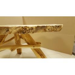 Стол обеденный из массива горного тополя