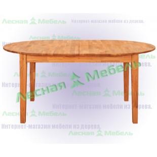 Стол из дуба раскладной Ховдала из нашей коллекции мебели в эко стиле.