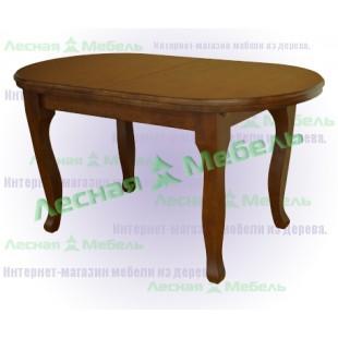 Стол из дуба раскладной Версаль - каталог мебели в эко стиле.
