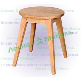 "Табурет из дуба ""Рената"" из каталога мебели в эко стиле."