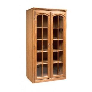 Шкаф для книг с витриной Элбург.