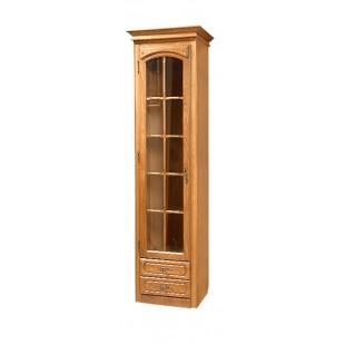 Шкаф с витриной Элбург