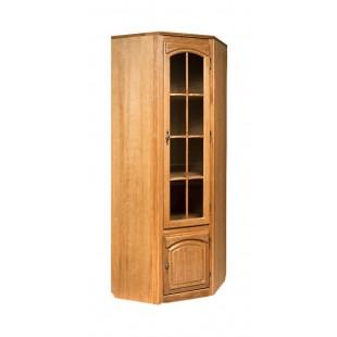 Угловой шкаф для книг Элбург