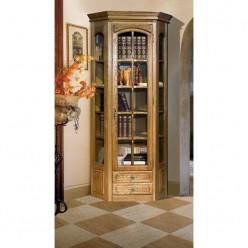 Угловой шкаф для книг Элбург левый