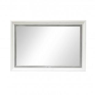 Полка зеркало Ивала из сосны.