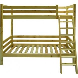 Кровать двухъярусная из сосны Валерия.