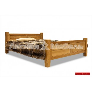 Кровати из массива дуба на выбор.
