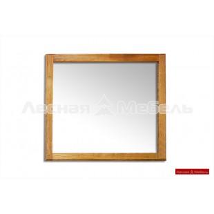 Зеркало из массива дуба Марсель