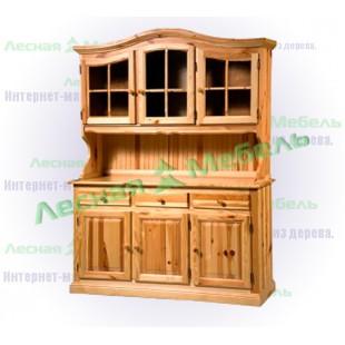 Буфет из массива сосны - каталог мебели из сосны по цене: