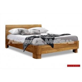 Кровать из дуба Норд-160. Большая двуспальная кровать из дуба Норд-160.