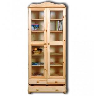 Купить книжный шкаф из массива сосны. Шкаф Норд Н-113