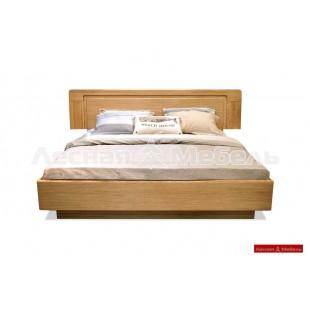 Кровать двуспальная из массива дуба Хедмарк.
