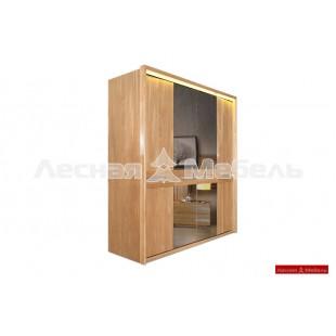 Шкаф для одежды из массива дуба Хедмарк.