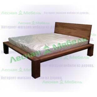 Дорогая мебель из дуба - кровать лофт-2