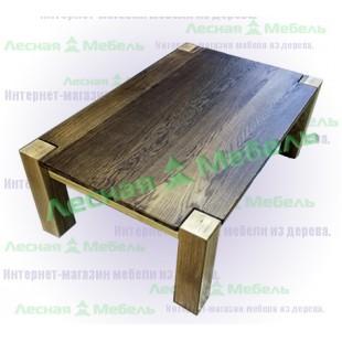 Купить журнальный стол из дуба в Москве. Модель: Аляска Премиум. Описание фото и цена.