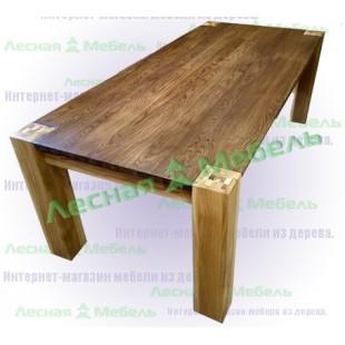 Обеденный стол из дуба Аляска. Описание, фото и цена в интернет магазине.
