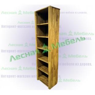 """Стеллаж деревянный """"норд"""" из массива дуба. Купить стеллаж деревянный в Москве."""
