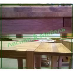 """Приставка """"SR"""" ( """"крыло"""") к столу (40мм)"""