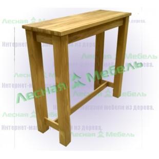 Стол барный из массива дуба от производителя