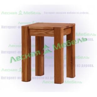 """Табурет из массива дуба """"Аляска SR"""" - мебель от производителя."""