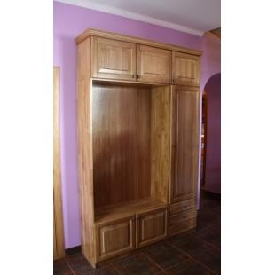Дубовый шкаф из коллекции мебели Аляска