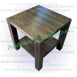 Журнальный столик из дуба (кв)