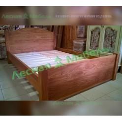 Кровать из дуба Аляска (140)