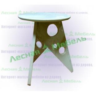 """Табурет из массива дуба """"Сыр"""" - мебель от производителя по цене:"""