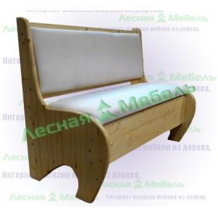 Купить кухонный диванчик из сосны в Москве.