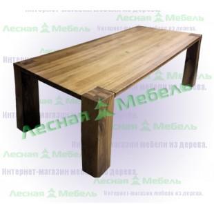 Купить дубовый стол. Дубовый стол аляска премиум 140х140 фото, цена и описание.