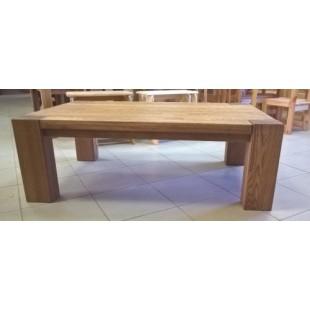 Стол журнальный из массива дуба Аляска. Мебель из дуба от производителя.