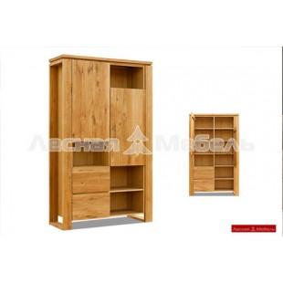Шкаф комбинированный из дуба - Коллекция Берген.