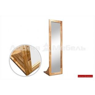 Напольное зеркало Бъерн из настоящего дуба.