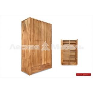 Шкаф для одежды из дуба Бьорн