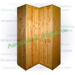 Шкаф угловой Герман (двери гармошкой).