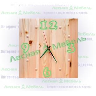 "Часы из дерева ""Арабика"""