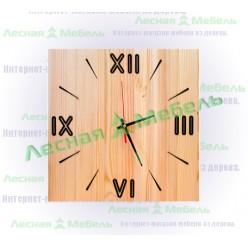 """Часы из дерева """"Рим"""""""