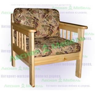 """Кресло из сосны """"канада"""" от российского производителя."""