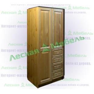 Шкафы с ящиками из сосны Оскар.