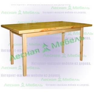 Прямоугольный стол из сосны