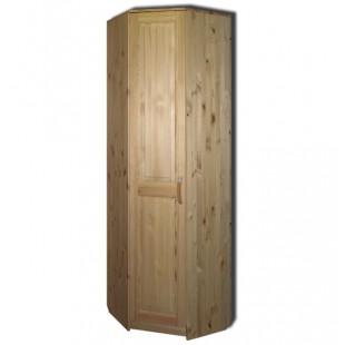 Угловой шкаф из массива