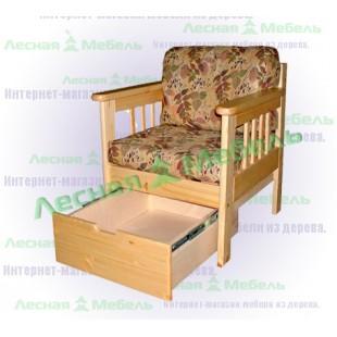 Ящик к креслу Канада из сосны.