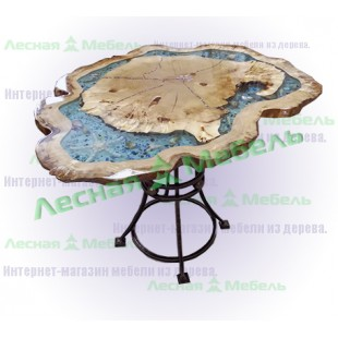 """Придиванный столик из тополя. Удобный придиванный столик из тополя """"Лагуна""""."""