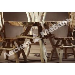 Стол обеденный из тополя