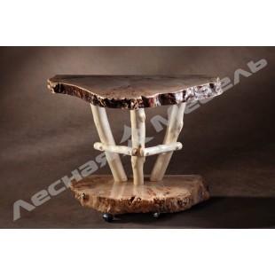 """Консольный столик """"Горный тополь"""". Купить консольный столик в один клик в Москве."""