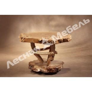 Журнальный стол из тополя. | Купить деревянный стол в Москве