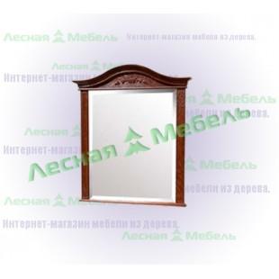 Большое зеркало из дерева - массив дуба