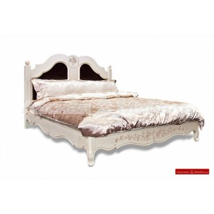 Дубовая кровать - шамбор.