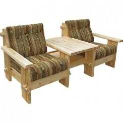 Кресло Тандем 1+1 Скандинавия